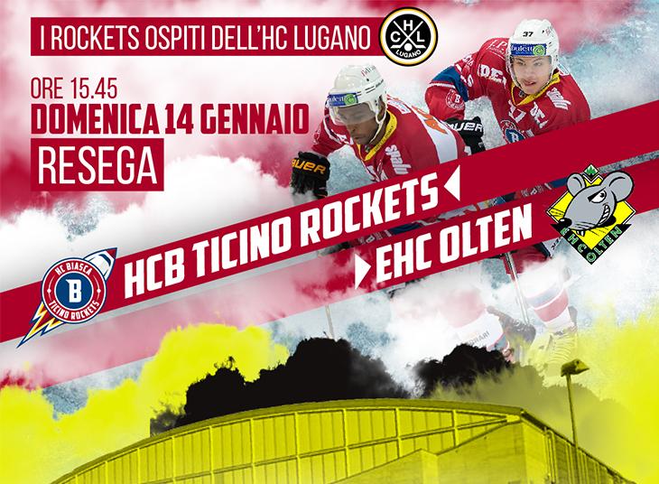 I Ticino Rockets ospiti della Resega