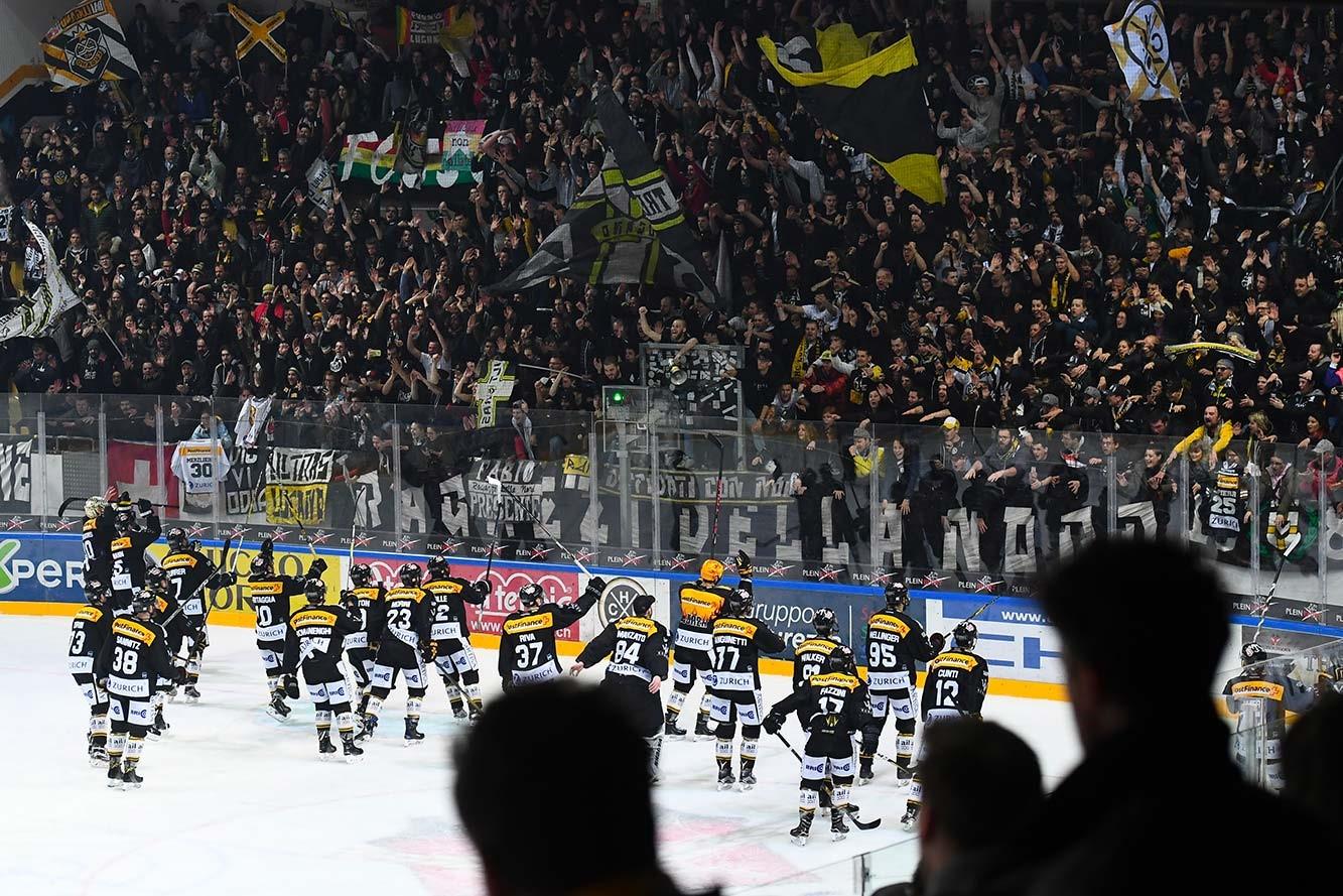 Curva Nord Hockey Club Lugano NLA 2018-2019