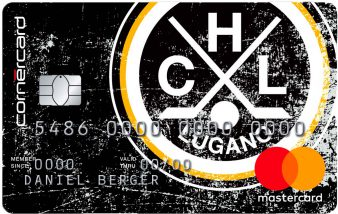 Cornercard Hockey Club Lugano Black Mastercard