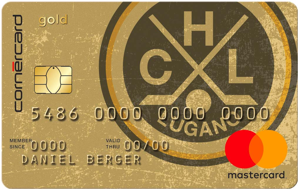 Cornercard Hockey Club Lugano Gold Mastercard