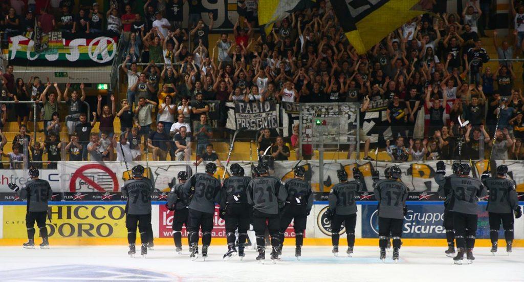 Aperta la prevendita per le partite di Champions Hockey League