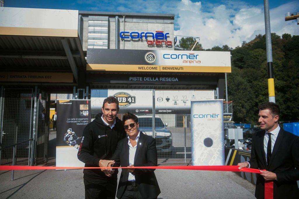 Inaugurata ufficialmente la Cornèr Arena