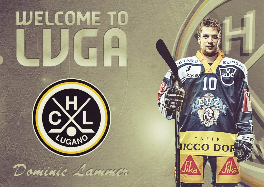Dominic Lammer: future in Lugano