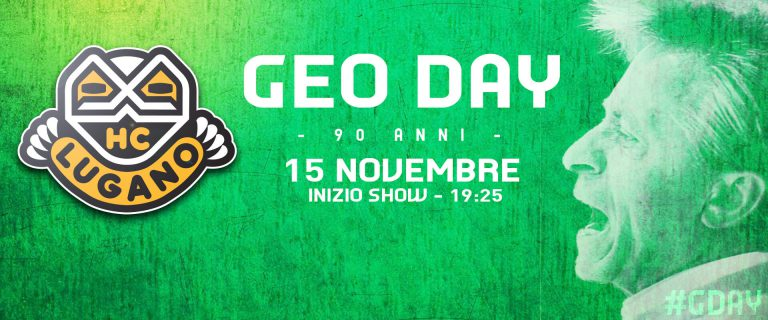 15.11.2018: Alle in die Cornèr Arena um Geo Mantegazzas 90. Geburtstag zu feiern