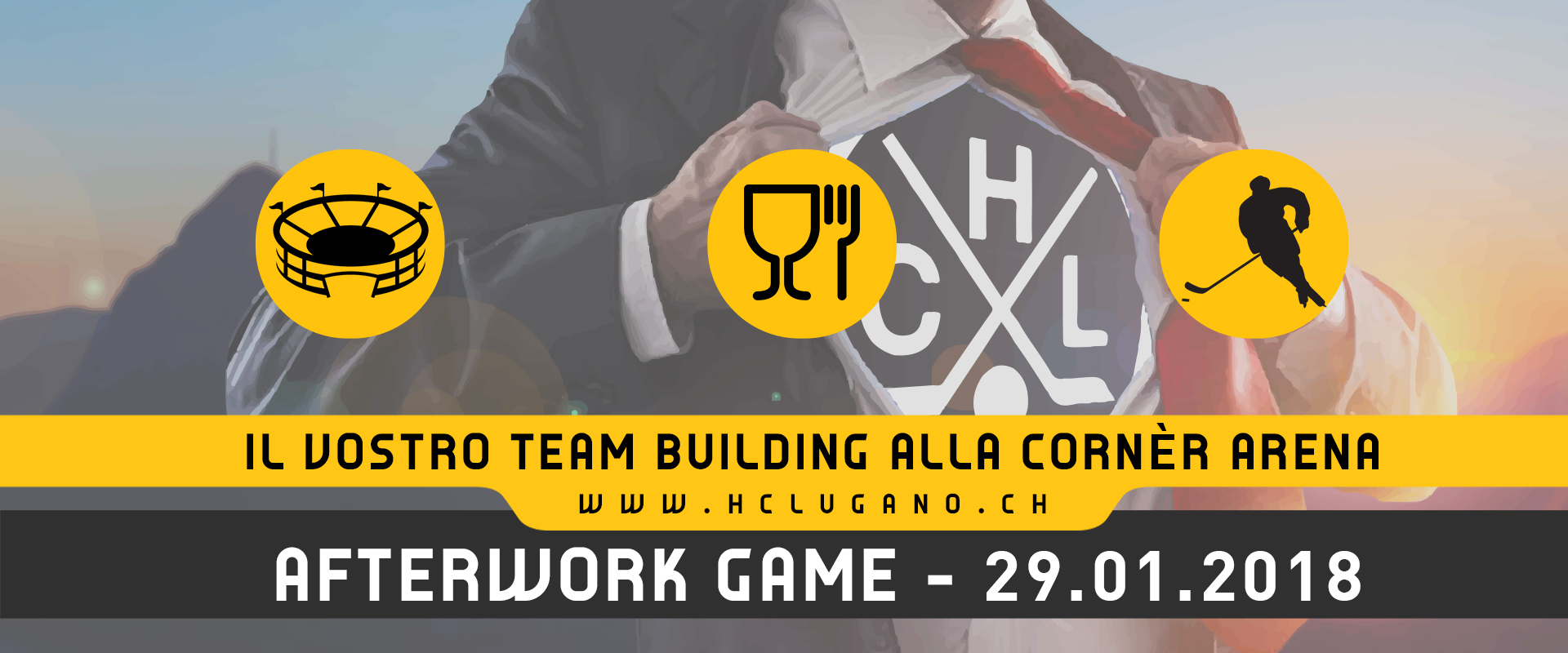 Afterwork Game - 29.01.2019 News sito