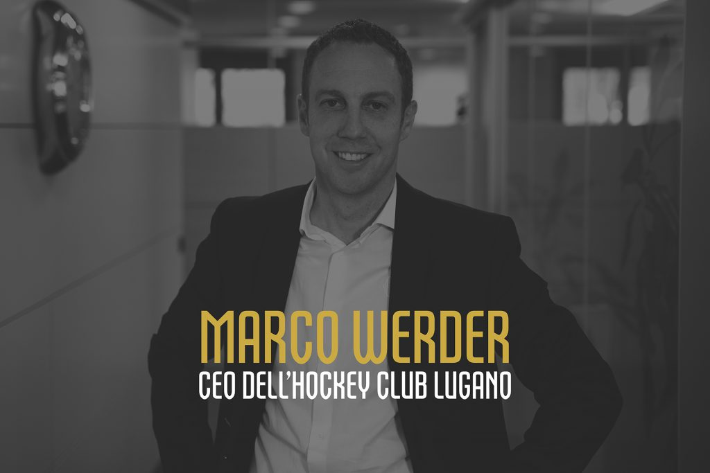 Marco Werder CEO dell'Hockey Club Lugano