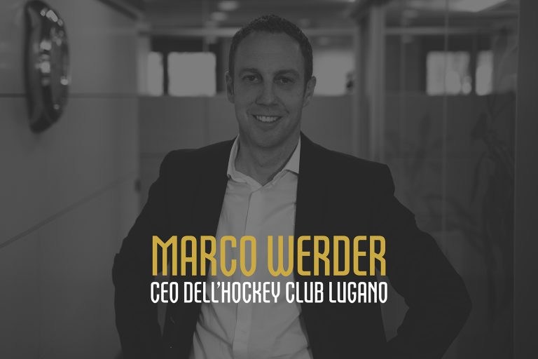 Marco Werder CEO dell'Hockey Club Lugano