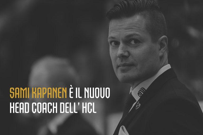 Sami Kapanen è il nuovo head coach dell'HCL